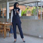 Pilihan Berbusana Senada ala Nina Nugroho untuk Bekerja